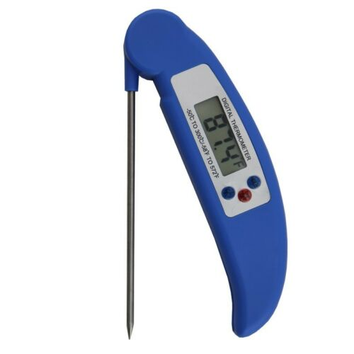 Instant Digital Read Food Probe Cooking Meat Kitchen BBQ Milk Temp Thermometer