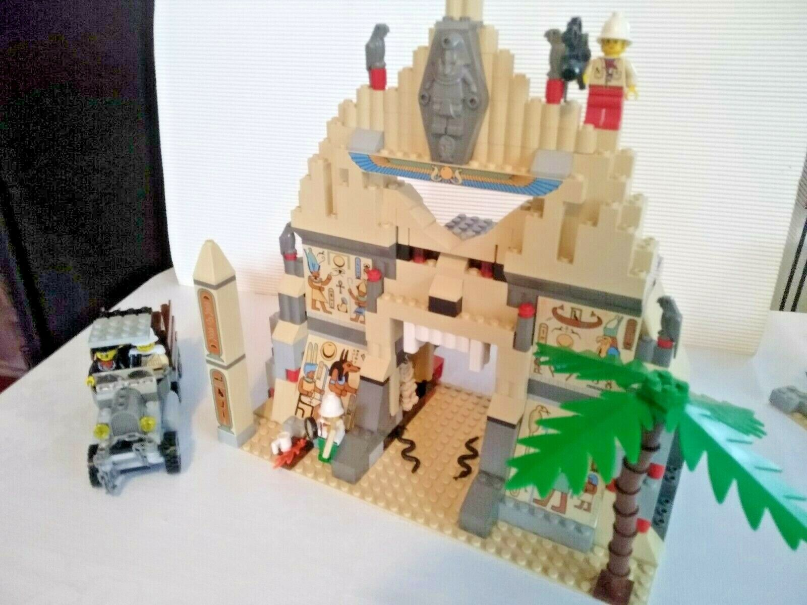 "Lego Lego Lego adventurers 5988  ""The Temple of Anubis"" 7580d0"