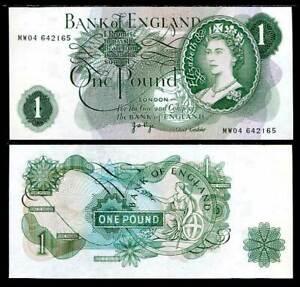 GREAT-BRITAIN-1-POUND-England-QE-II-1960-P-374-g-UNC