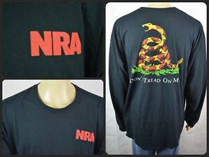 6c243507 NRA T-Shirt Snake Dont Tread On My Rights National Rifle Association S-3XL  Herrenmode Shirts ...