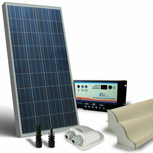 Accessori Regolatore Kit Solare Camper 150W 12V Base Pannello Fotovoltaico