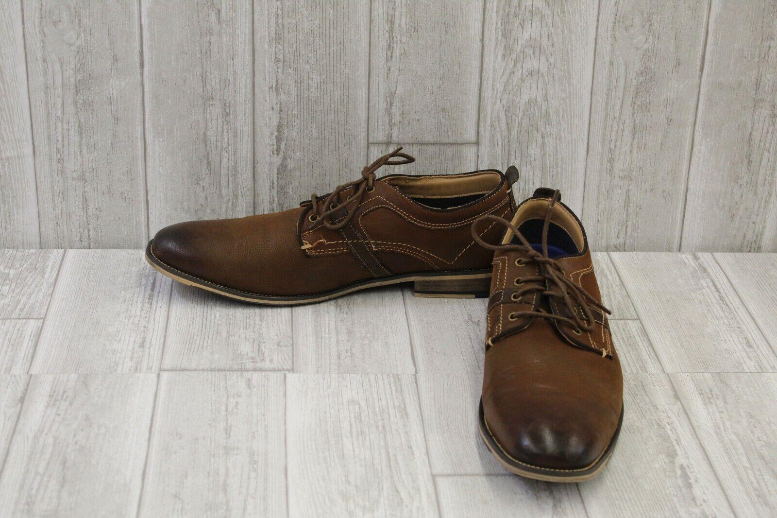 Steve Madden Jasco Oxford - Men's Size 13, Brown