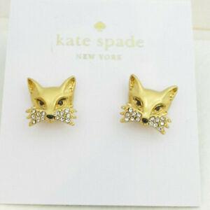 8807b9a149cf5 kate spade new york Fox Stud Earrings   eBay