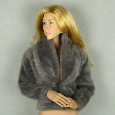 1/6 Phicen, Hot Toys, Kumik, ZC, TBL, Vogue Female Fahion Gray Color Fur Jacket