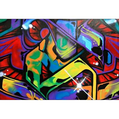 Stickers muraux déco tag graffiti 1502
