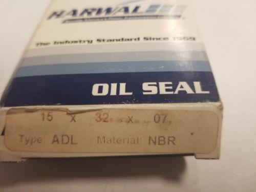 15X32X7 ADL NBR 15 X 32 X 7 MM METRIC OIL SEAL