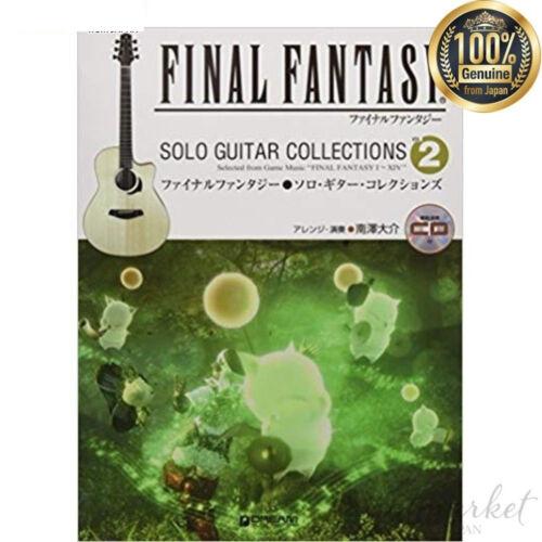 Japan Final Fantasy // Solo Guitar Sammlungen Vol mit Modell Performance CD 2