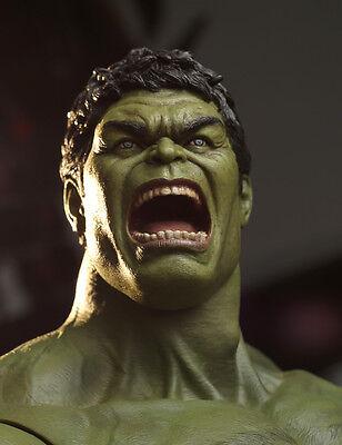 Hot Item 1/6 Scale Custom Made Avengers Hulk Head Sculpt In Stock New Toys