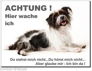 Türschilder Terrier-hund-aluminium-schild-0,5-3 Mm Dick-türschild-warnschild-hundeschild Hunde