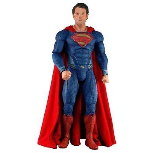 Neca Superman Man Of Steel Clark Kent Henry Cavil Action Figure 1 4 Scala