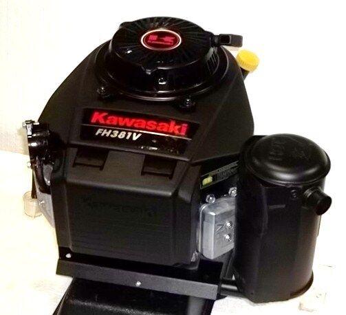 Kawasaki Vertical 13 HP V-twin Engine Recoil #fh381v Electric Start