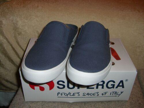 Woman's Superga Slip On Sneaker Sz 7 1/2 Vintage B