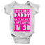 miniature 2 - Sorry Boys Can't Date Babygrow Funny New Born Baby Joke Daddy's Girl Gift