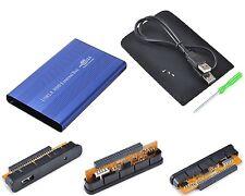 """Case per disco rigido 2.5"""" DD USB USB2 Plug&Play Alluminio Leggero Portatile IDE"""