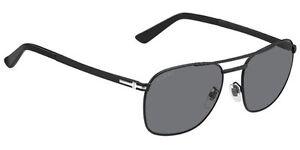 345d35ab67 GUCCI Square Sunglasses GG 2270 F S 003RA Black Metal Polarized ...