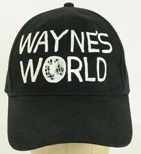 hand drawn painted Wayne's World movie prop adjustable baseball hat cap