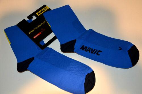 Mavic Essential Mid Sock leichte atmungsaktive Basic Socken Sommer blau NEU!