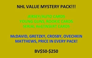 NHL-VALUE-MYSTERY-PACK-AUTO-JERSEY-ed-RC-ALL-HITS-BV-50-200