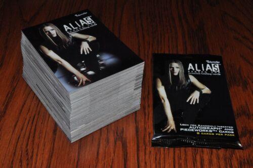 Alias Season 2 81 card base set 5 wrappers