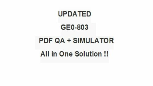 Genesys Professional 8 System Consultant Voice GCP8 - CVP Test GE0-803 Exam QA