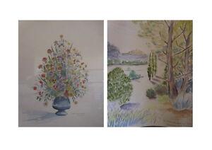Peintures-aquarelles-ELIAN-LETOURNEAU-1996-ARTBOOK-by-PN