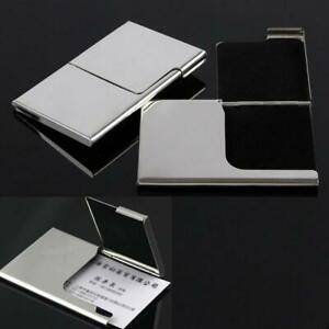 Stainless-Steel-Business-ID-Credit-Card-Holder-Wallet-Case-Pocket-Box-Met-W5M4