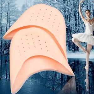 Kit-2x-protezione-dita-piede-punta-piedi-silicone-balletto-danza-ballerina-soft
