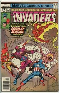 Invaders-1975-series-23-fine-comic-book