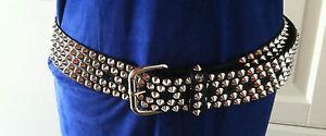 Originale Nuovo Hm S Choo Nuovo Cintura Jimmy Per Rivetto TagliaTaglia Cintura PkXiuZ