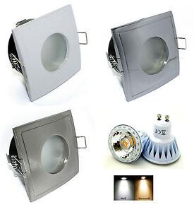 Faretto-da-soffitto-Aquarius-S-angolare-GU10-230V-LED-7W-52W-IP65