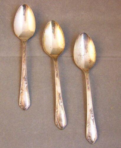 Vintage Rogers Oneida Silver-Plate Meadowbrook Spoons 3