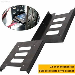 246C Metal SSD Holder Replace Solid State Disk 2.5 To 3.5 SSD Adapter Bracket 691974158455