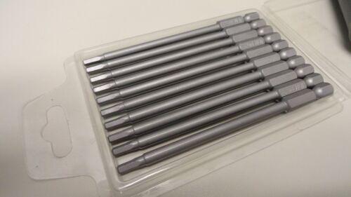 "JDM Magnetic 3/""  75mm Long 1//4/"" Shank 3mm H3 Hex Power Driver Screwdriver Bits"