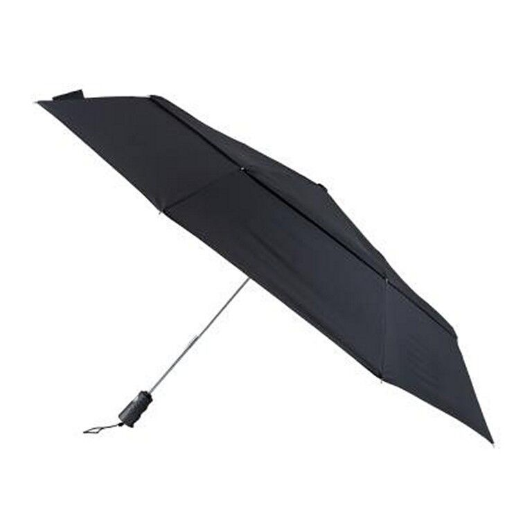 ! nuevo! Bolsos Big Top De Aluminio Auto Abrir/cerrar Doble Canopy Paraguas