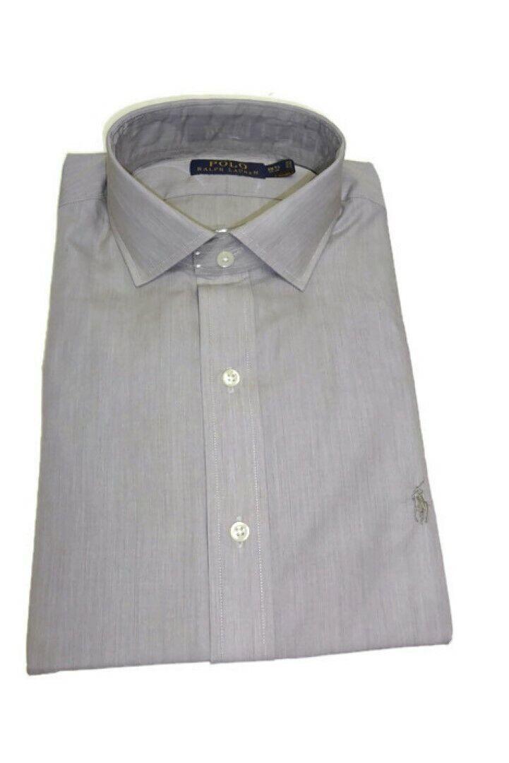 Polo Ralph Lauren Men's Estate Hairline Stripe Shirt 15.5(34-35), Cafe White