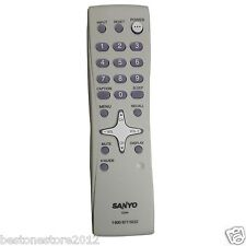 original sanyo remote control for ds24425 tv television projector rh ebay com