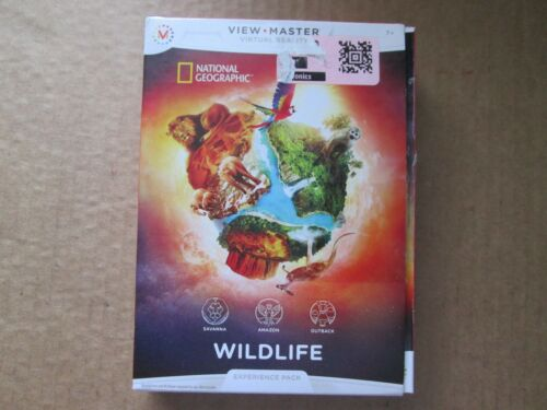 View-master Experience Pack National Geographic: Wildlife USED