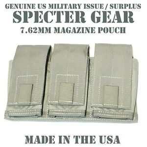 SPECTER-GEAR-747-US-MILITARY-FOLIAGE-MOLLE-TRIPLE-7-62-RIFLE-MAG-POUCH-SHINGLE