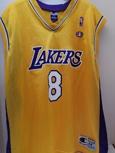 Details about Kobe Bryant LA LOS ANGELES LAKERS AUTHENTIC CHAMPION VINTAGE Jersey ADULT 44