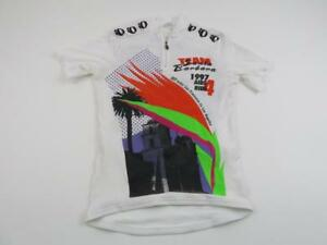 Vtg-97-Pearl-Izumi-Mens-Santa-Barbara-Aids-Ride-Bike-Cycling-Jersey-Sz-XS-Shirt