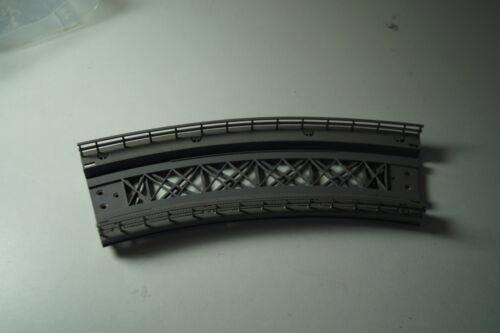 H0 Märklin M-Binario//K-binario 7267 rampe pezzo piegato usati