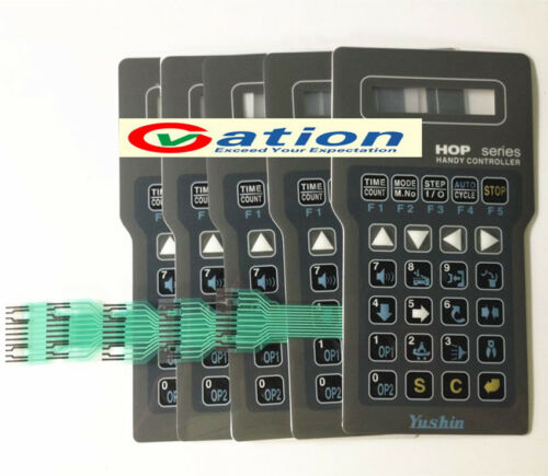 for NEW YUSHIN AN Series handy controller membrane keypad#05841