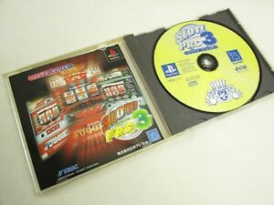 SLOT-PRO-3-Item-ref-bbc-PS1-Playstation-Japan-Game-p1