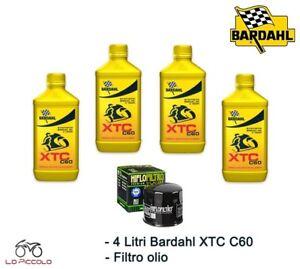 Servicesatz 4 LT Öl BARDAHL XTC 10w40 + Filter SUZUKI GSX F 750 1999 2000