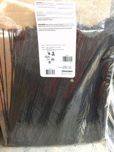 "Thomas /& Betts Ty-Rap TY234MX 14/"" 18lb UV Black 1,000//bag"