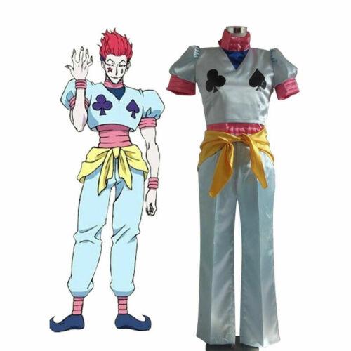 HUNTER×HUNTER Hisoka the Magician Morow Outfit Anime Cosplay Costume
