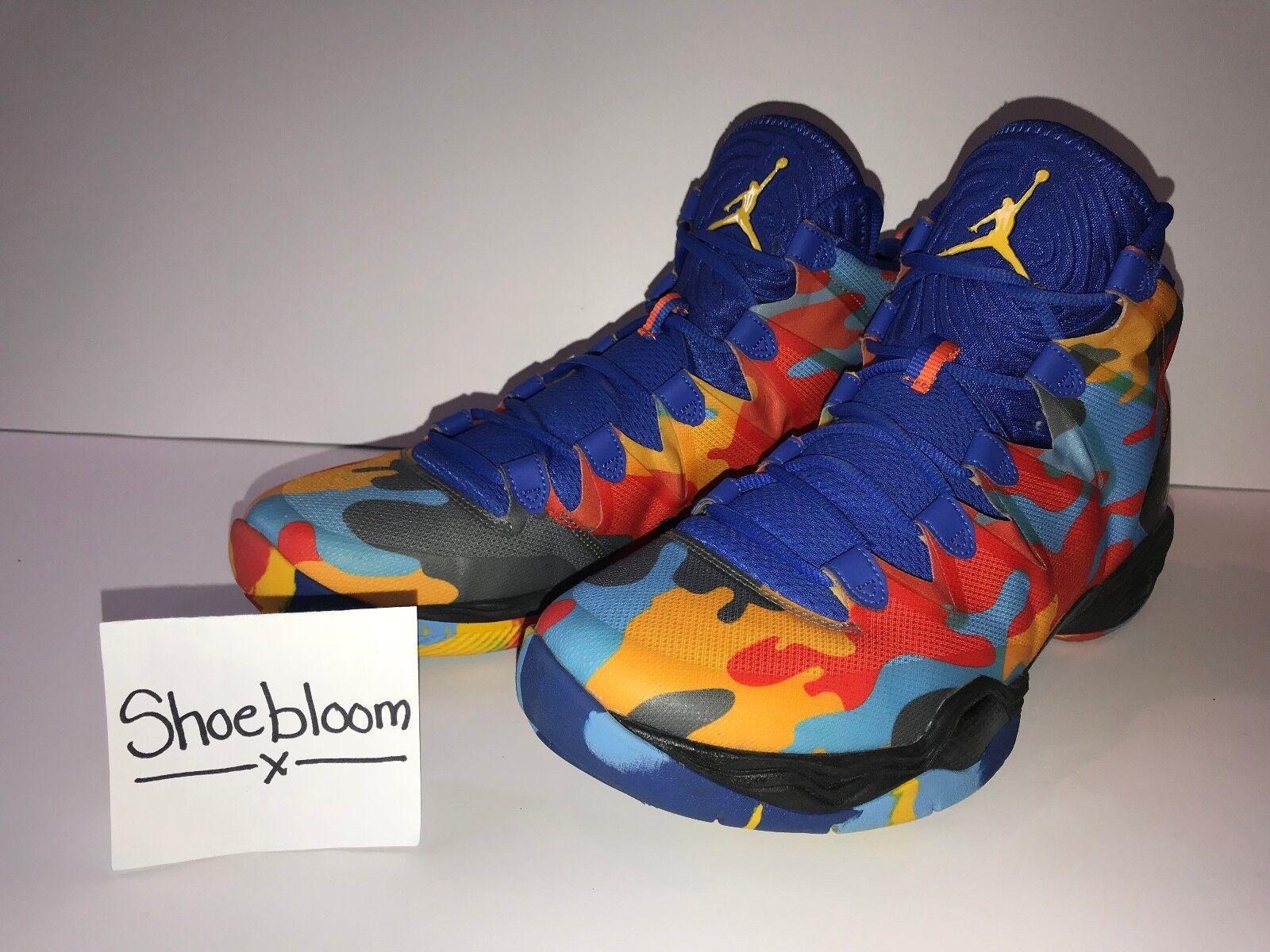 Jordan XX8 28 SE Russell Westbrook OKC Camo PE Size 12.5 100% Authentic