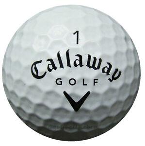 50-Callaway-HX-Tour-Golfbaelle-im-Netzbeutel-AA-AAAA-Lakeballs-gebrauchte-Baelle