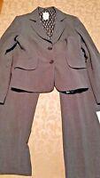 Kay Unger Gray Pants Suit Size 8