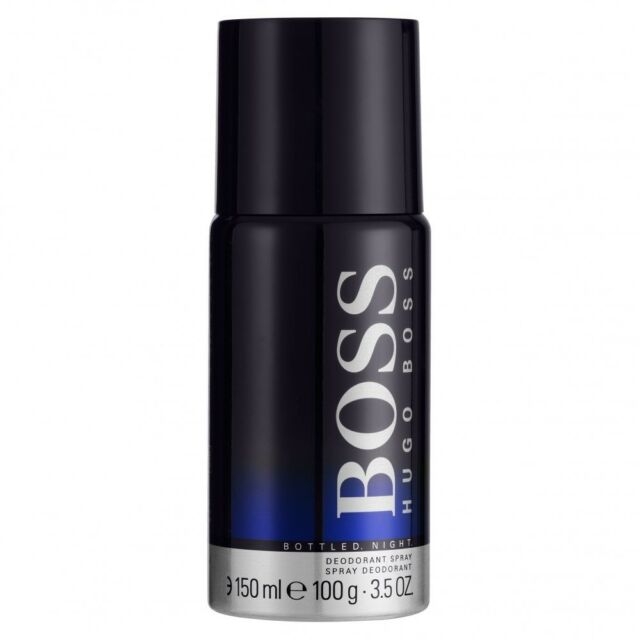 fa1f884cc07c2 Boss Bottled Night Deodorant Spray 3.5oz 150ml For Men by Hugo Boss - Low  Ship
